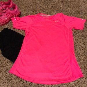 Nike short sleeve running top